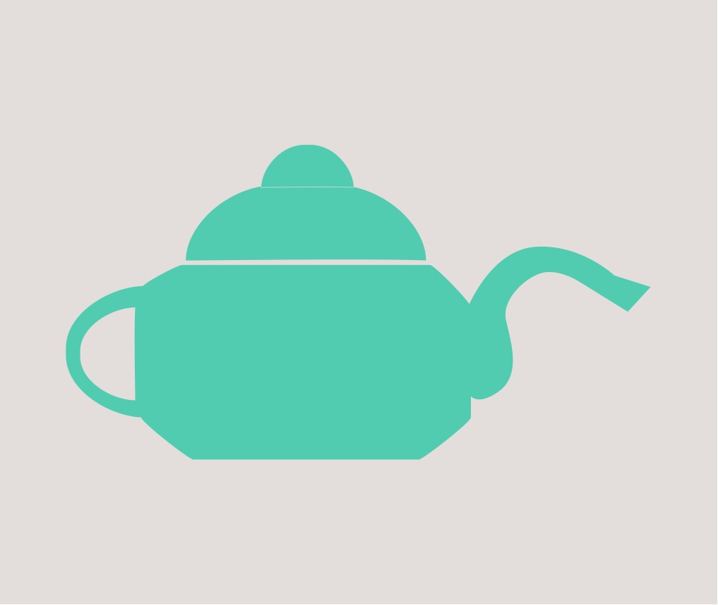 Tea time graphic.