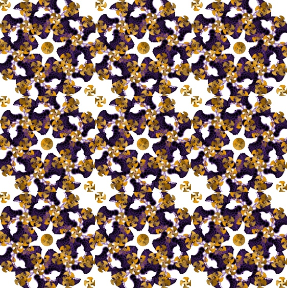 Floral pattern 1.