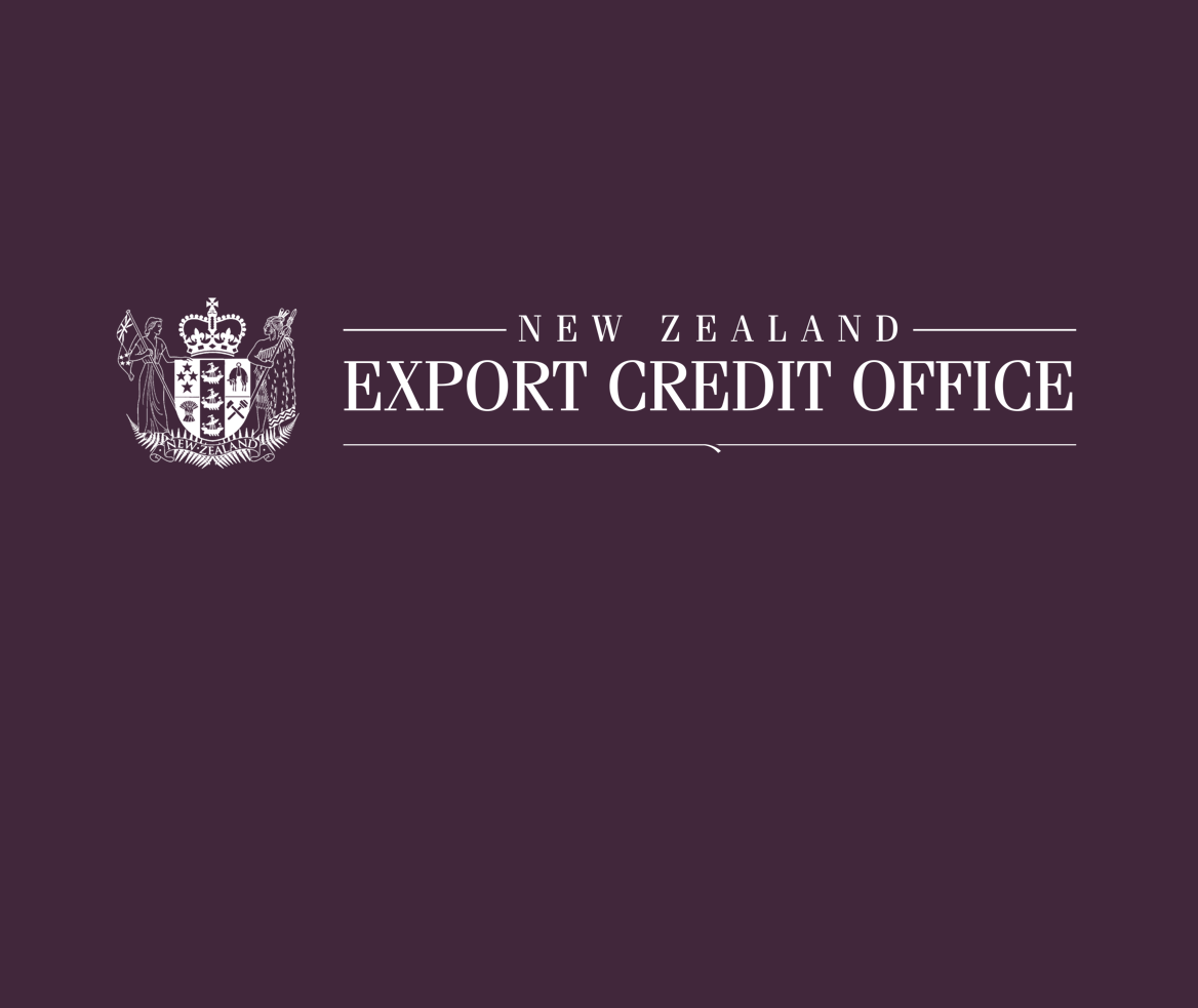 Thumbnail for the New Zealand Export Credit Office website.